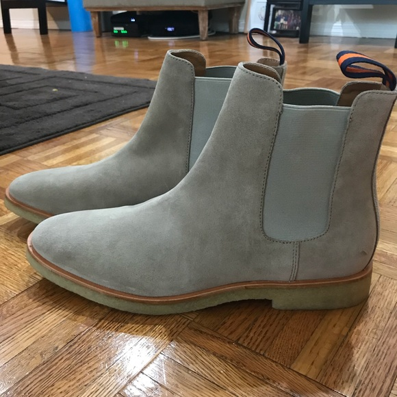 ed7e1d8c335 New Republic Suede Chuck Chelsea Boot in Sand NWT